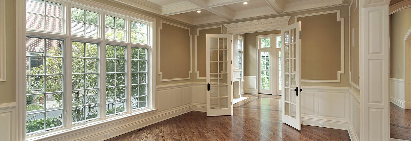Custom Dining Room Windows